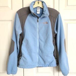 North Face Fleece Zip Up Jacket Size S